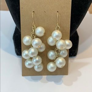 💐5/25 bold chunky cascading pearl statement gold